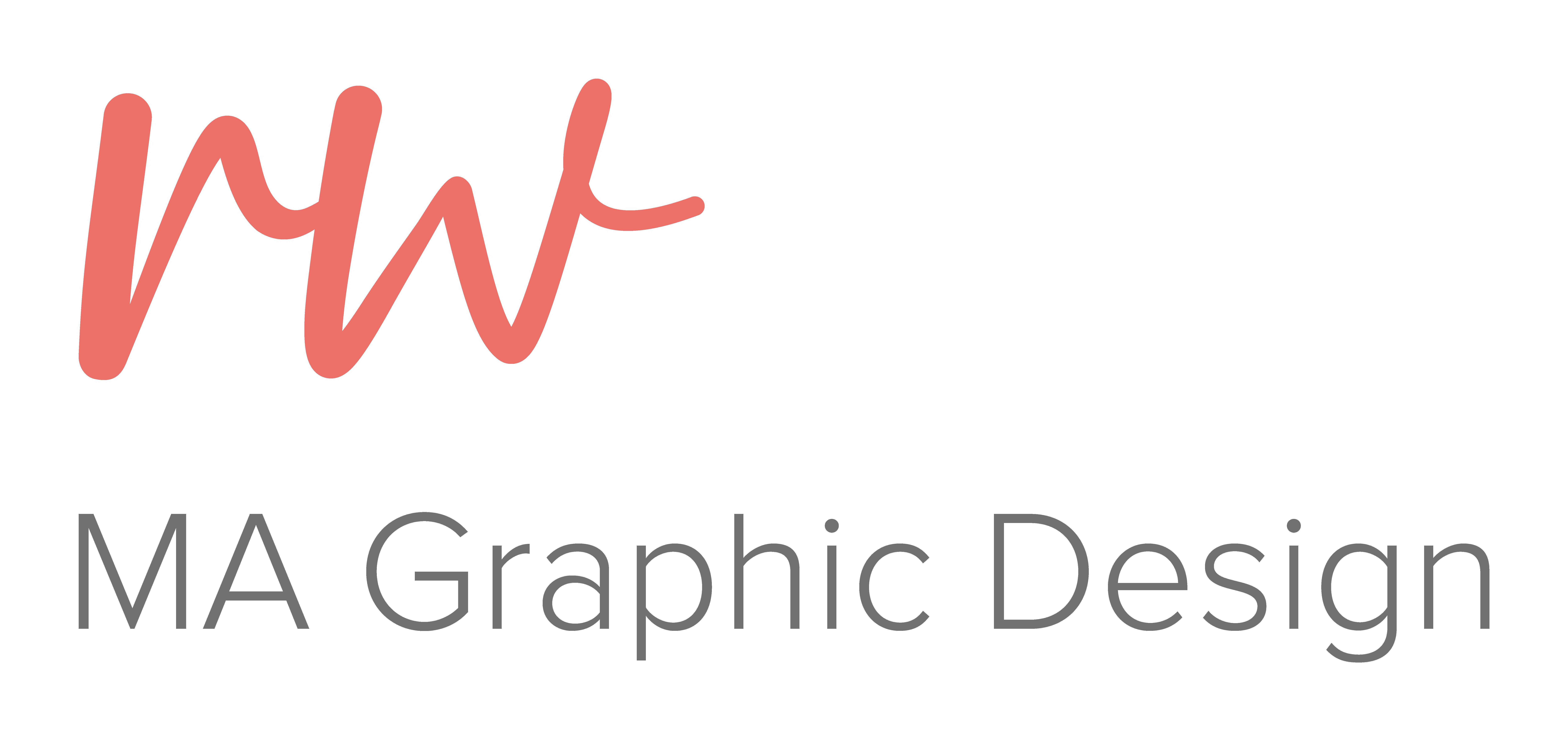 RW MA Graphic Design Logo